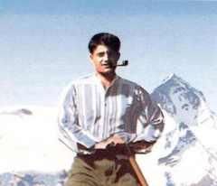 Bl. Pier Giorgio Frasatti sporting a pipe