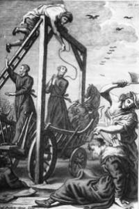 Execution of St. Edmund Campion