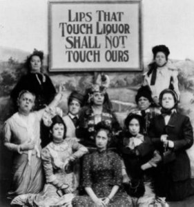 The lovely ladies of the temperance movement.