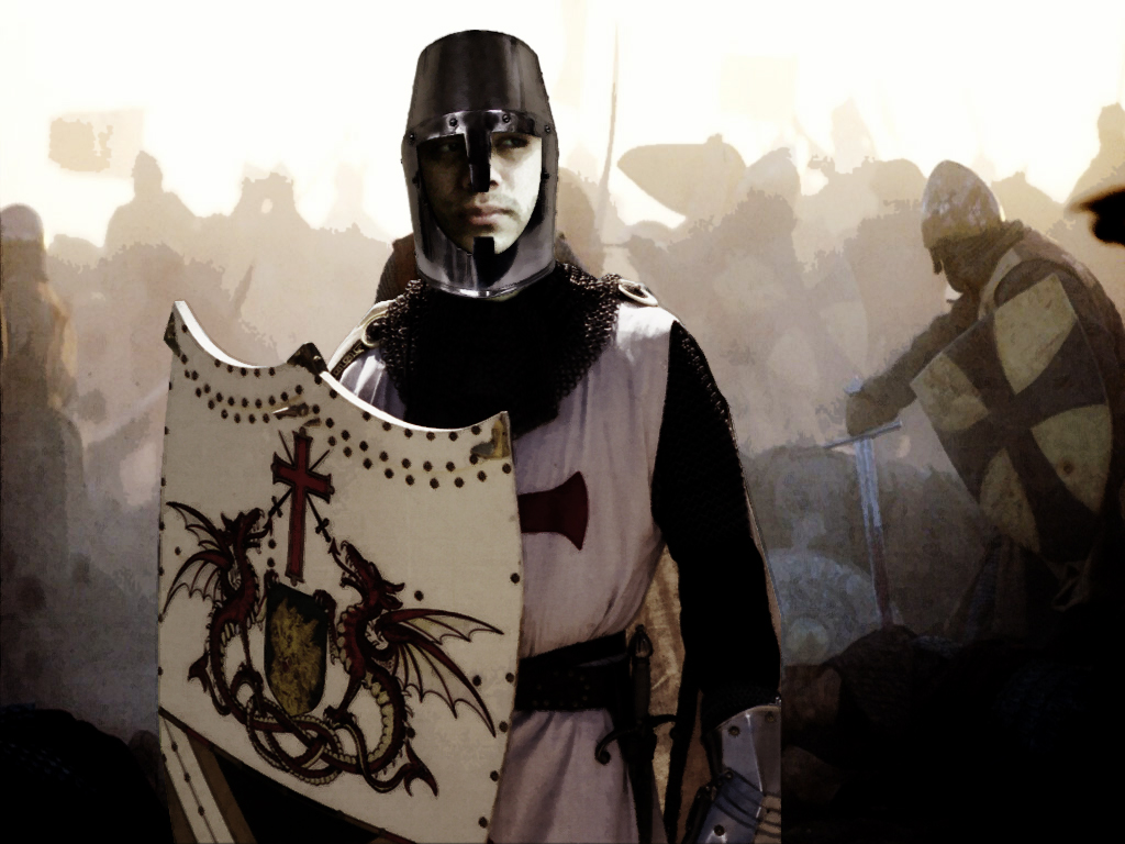 3 evils every man can fight the catholic gentleman for The knights templat