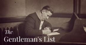 The Gentleman's List (11-25-2013)