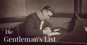 The Gentleman's List(11-25-2013)
